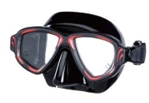 Maske Rock  schwarzes  Silikon